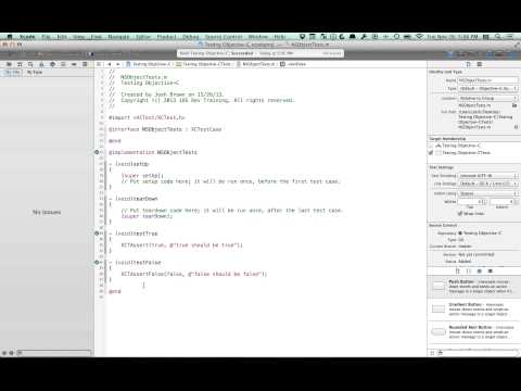 iOS Tutorial: Testing with the XCTest Framework