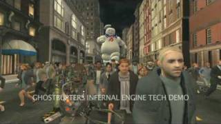 Ghostbusters The Video Game: Lost Game A.I. (TECH DEMO FOOTAGE)