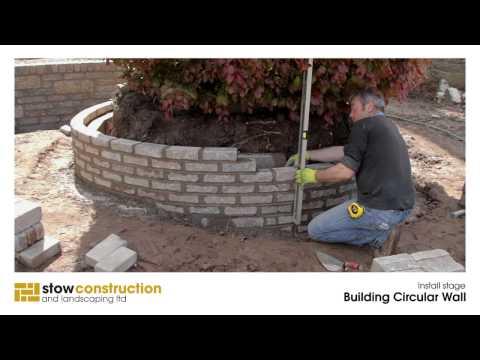 North Berwick Case Study #3 - Building Circular Wall