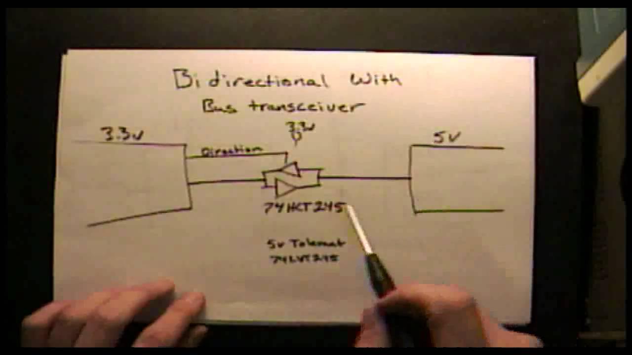 Short Circuits Logic Level Shifting The Days Of 5 Volt Only Circuitdiagram Basiccircuit Negativevoltagereferencecircuithtml Systems Are Gone Youtube