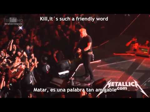 Metallica - Welcome Home (Sanitarium) Live Mexico City 2012[Subtitulos Español-Inglés]