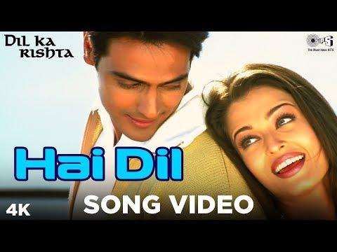 Hai Dil Song Video   Dil Ka Rishta   Arjun Rampal & Aishwarya Rai   Alka Yagnik & Kumar Sanu