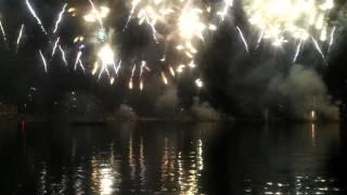 Genewskie fajerwerki - Feu d'artifice des Fêtes de Genève 2012