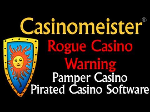 Rogue Casino Warning: Pamper Casino