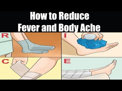 How to Reduce Fever and Body Ache | Baby Fever Treatment