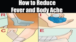 How Reduce Fever And Body Ache