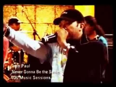Live Session : Sean Paul - Never gonna be the same