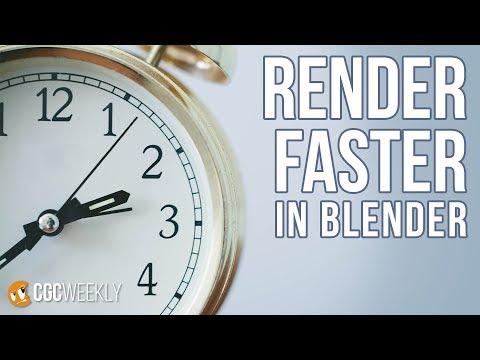 Uber-fast Rendering Optimizations in Blender - CGC Weekly #3 - 동영상