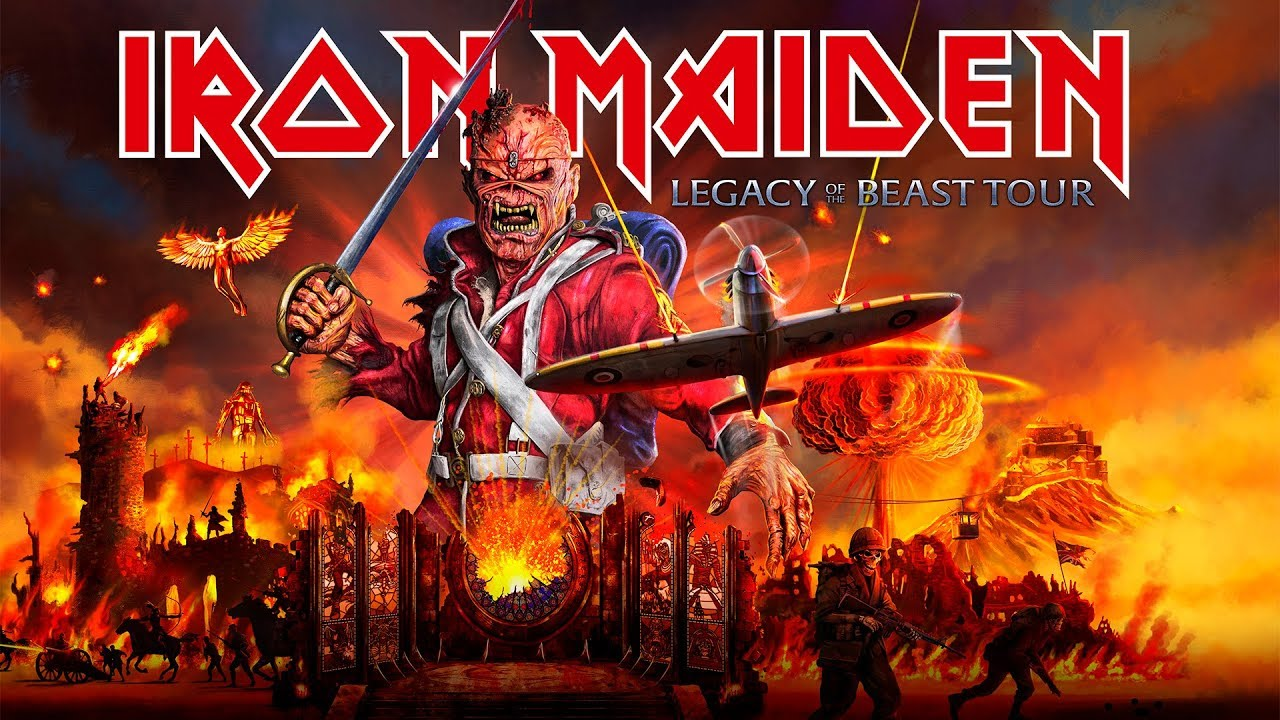 Iron Maiden Tour 2020.Iron Maiden 2020 Tour Sizzle