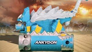 파워레인저 다이노포스 티라노킹 공룡 장난감 동영상 獣電戦隊キョウリュウジャー power ranger dino force