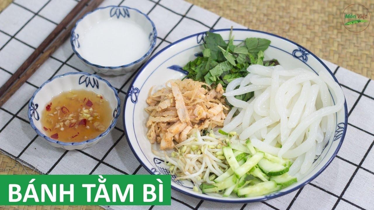 Cách làm Bánh Tằm Bì miền Tây sợi bánh se tay tại nhà | Món Việt