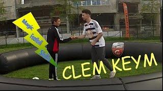 DEFI TECHNIQUE PETIT PONT POUR FOOTSTYLE TV / AVEC CLEM KEYM