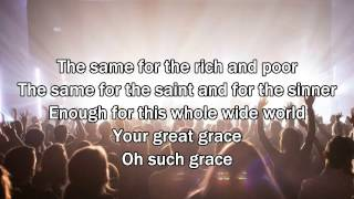 Your Grace Finds Me - Matt Redman (Worship Song with Lyrics) 2013 New Album
