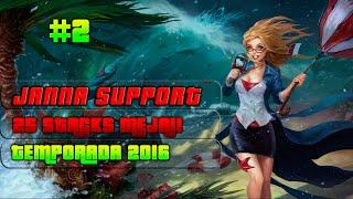 Janna Support! Vuelve uno de los mejores Support con MEJAI! - Ep.2 (Español)