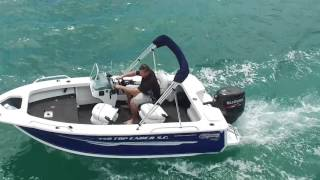 Boat Reviews on the Broadwater - Quintrex 450 Top Ender