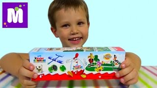 Киндер Сюрприз коробочка Луни Тюнз Киндер распаковка игрушек Looney Tunes Kinder Surprise toys