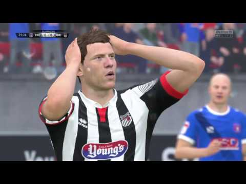 Fifa 17 - Grimsby Town Manager Mode Part 10 - Carlisle