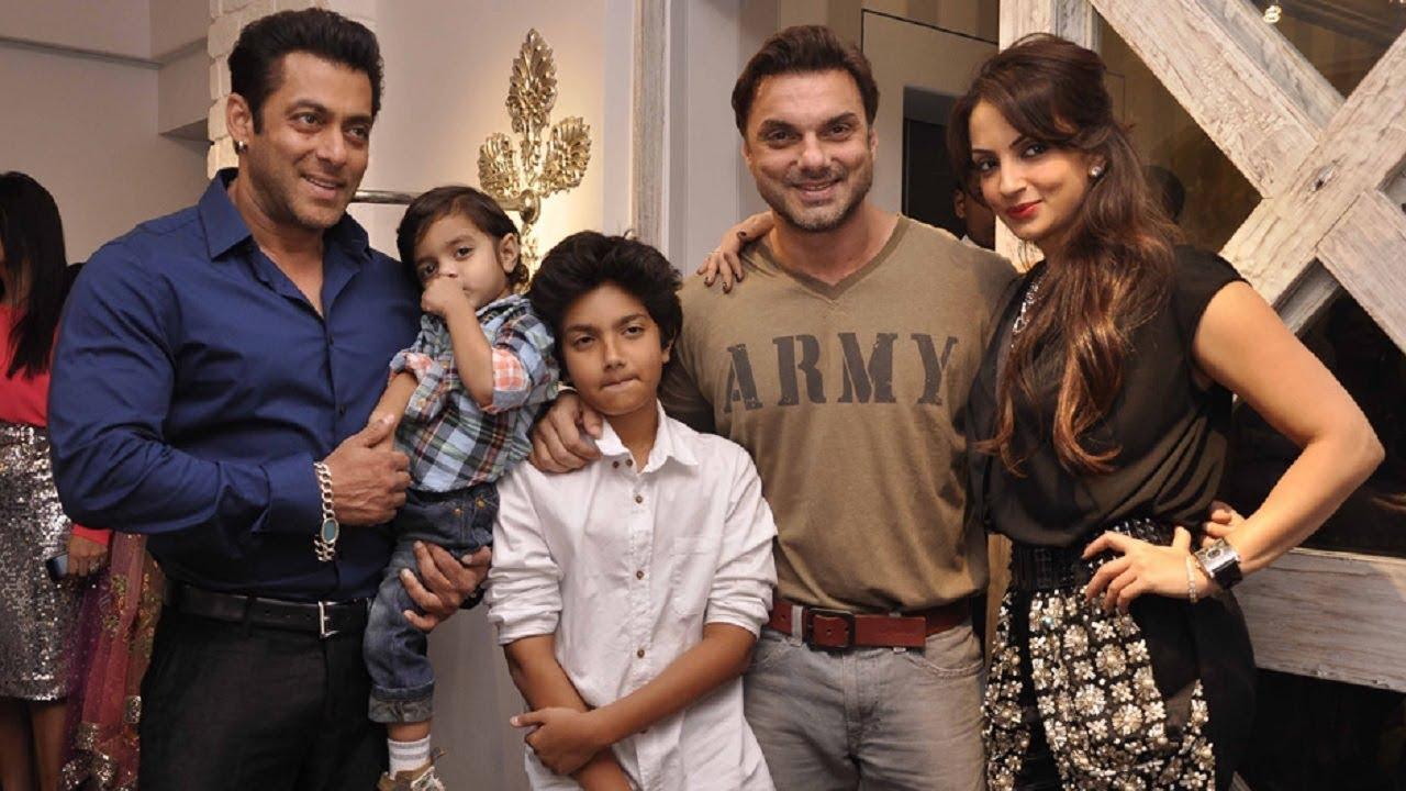 Salman Khan Ki CUTE Family | SALMAN Khan Life Story ...