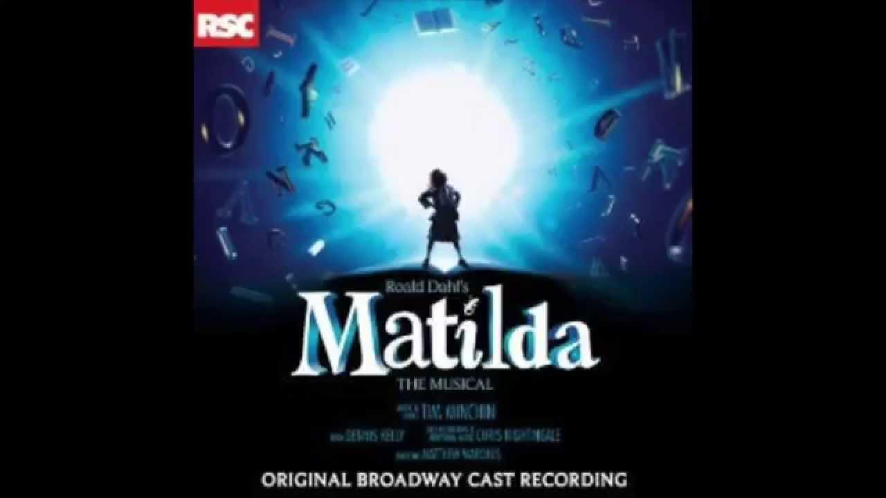 Chalk Writing Matilda the Musical Original Broadway Cast