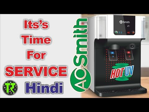Hindi 2018 AO Smith Z1 HotUV Water Purifier Maintenance Service