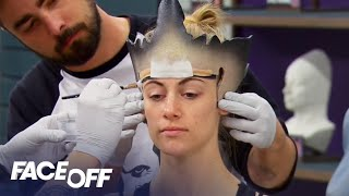 Video FACE OFF | Season 11, Episode 4: 'Miracle at Last Looks' | SYFY download MP3, 3GP, MP4, WEBM, AVI, FLV Mei 2018