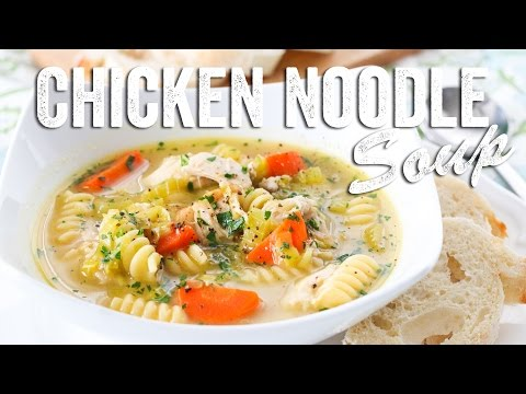 Homestyle Chicken Noodle Soup Recipe : Season 2, Ep. 13 - Chef Julie Yoon