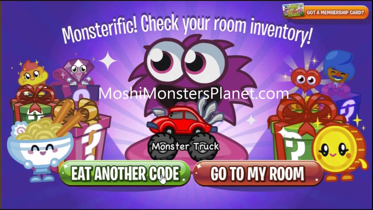 Moshi Monsters Codes 2014 - New Codes, Secrets and Cheats ...