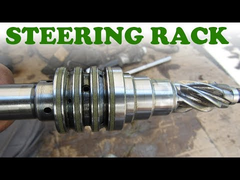 How a Hydraulic Steering Rack Works