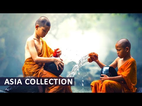 Healing Meditation Music ● River in Silence ● Relaxing Chinese, Tibetan Singing Bowls for Yoga Relax