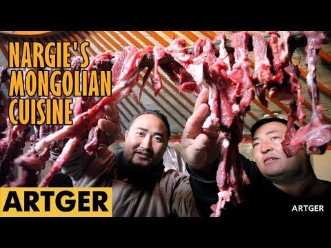 Nargie's Mongolian Cuisine: BORTS (Mongolian Air-Dried Meat)