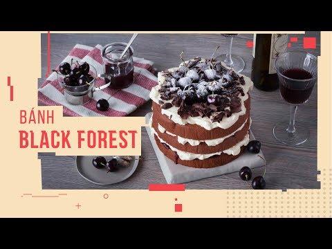 Cách làm Bánh Black Forest của Đức cho những ai mê cherry | Hướng Nghiệp Á Âu