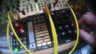Makenoise René Rythmic Patterns With Logic Clock By Mod & Gate By Mod