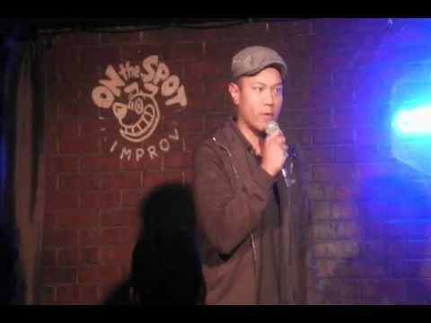 Filipino Comedian Ernie at The ComedyWorks- Montreal