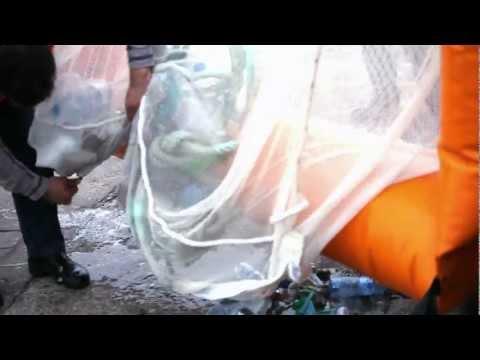 Removing Marine Litter in Barcelona - Waste Free Oceans