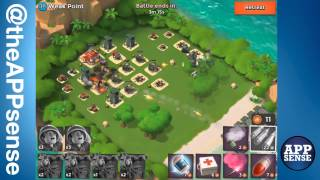 weak point 37 single player island boom beach walkthrough