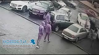 В Сети опубликовали видео с сегодняшней перестрелки во Владикавказе, 11.05.2018