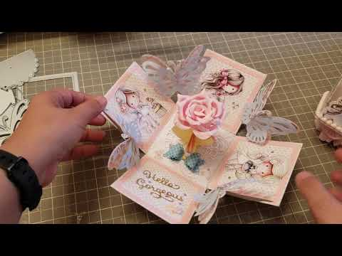 PROJECT SHARE - Butterfly Explosion Box