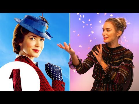 """I've made a huge mistake!"" Mary Poppins' Emily Blunt on the perils of kite flying & baby puke"