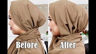 How to Add Volume Under Your Hijab || Hijab Underscarf Tutorial