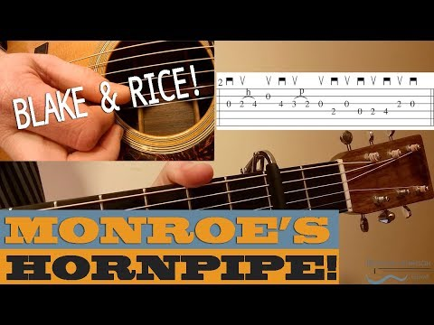 Monroe's Hornpipe - Traditional Flatpicking Tune | Bluegrass Guitar Lesson with TAB