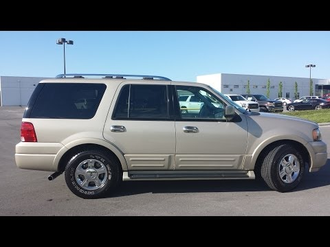 sold.2005 FORD EXPEDITION LIMITED 4X2 92K 1 OWNER CHAMPAGNE LEATHER CALL 855.507.8520