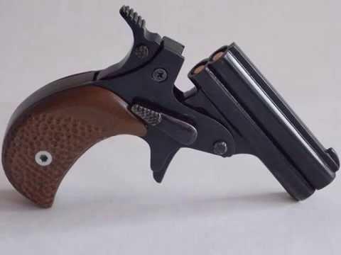 Огнестрельный пистолет своими рука