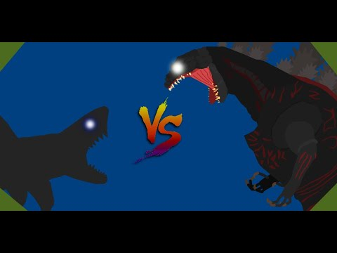 Megalodon VS Shin Godzilla (OLD) - YouTube