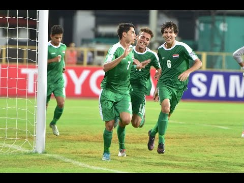 Uzbekistan vs Iraq (AFC U-16 Championship 2016: Quarter-final)