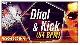 Dhol & Kick 84 BPM   Bally Sagoo   Punjabi Dhol Loops   Nupur Audio