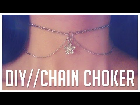 how to make your own tattoo choker
