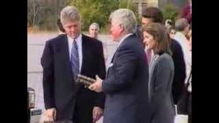 JFK MEMORIAL LIBRARY DEDICATION Oct 1993