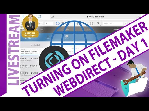 Day 1 - Turning on WebDirect ... what to expect for beginners