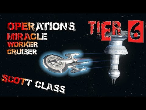 Operations Miracle Worker Cruiser - Scott class [T6] – with all ship visuals - Star Trek Online