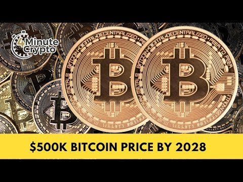 $500,000 Bitcoin Price By 2028